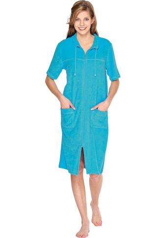 Wewo fashion Damenbademantel »033«, (1 St.), Kragen mit Kordel kaufen