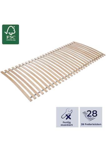 MISTER SANDMAN Lattenrost »Lattenrost basic«, 28 Leisten, Kopfteil nicht verstellbar kaufen