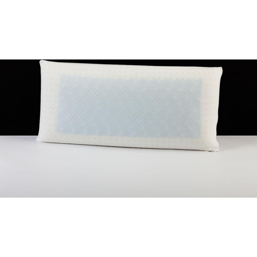"""DI QUATTRO Nackenstützkissen »""""Memory Dream"""" Smartmassage Gel«, Füllung: Viscoschaum und Viscoeinlage mit Gelschaum, Bezug: 100% Polyester, (1 St.)"""