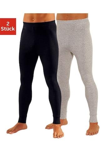 Clipper Lange Unterhose, (2 St.), aus weichem Single Jersey kaufen