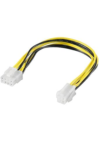 Goobay PC Stromkabel/Stromadapter ATX12 P4 »4 Pin zu 8 Pin« kaufen