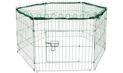 dobar Freigehege, BxLxH: 112x98x56 cm, mit Schutznetz kaufen