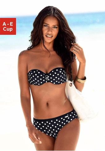 LASCANA Bügel-Bandeau-Bikini, mit Zier-Accessoires kaufen