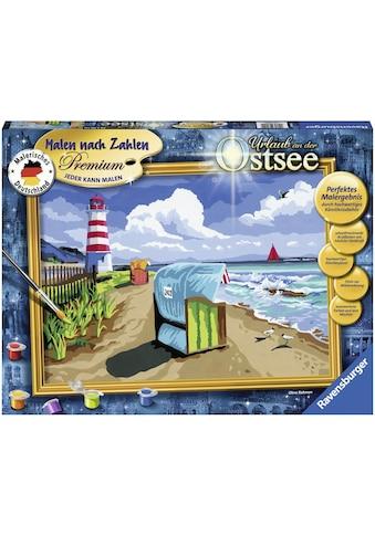 Ravensburger Malen nach Zahlen »Urlaub an der Ostsee«, Made in Europe, FSC® - schützt... kaufen