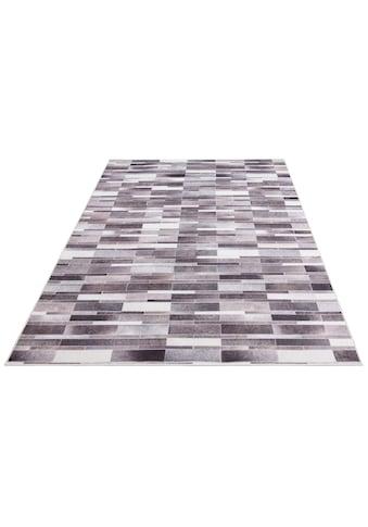 Bruno Banani Fellteppich »Ruwen«, rechteckig, 6 mm Höhe, Druckteppich in Fell-Optik/Kunstfell, Wohnzimmer kaufen