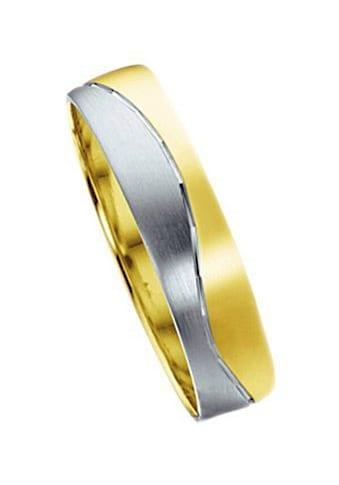 Firetti Trauring mit Gravur »5,0 mm, glanz, matt, Diamantschnitt in Wellenform« kaufen
