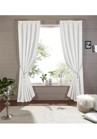 Vorhang, »Lora«, DELAVITA, Kräuselband 1 Stück kaufen