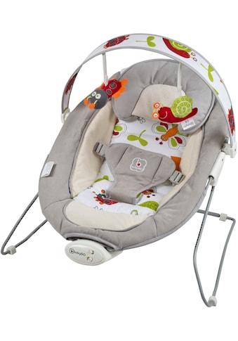 BabyGo Babywippe »Cozy, grey«, bis 9 kg, elektrisch, mit Sound und Vibrationsfunktion kaufen
