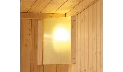 KARIBU Saunaleuchte »Premium Plug&Play«, 230 V steckerfertig, zur Eckmontage kaufen