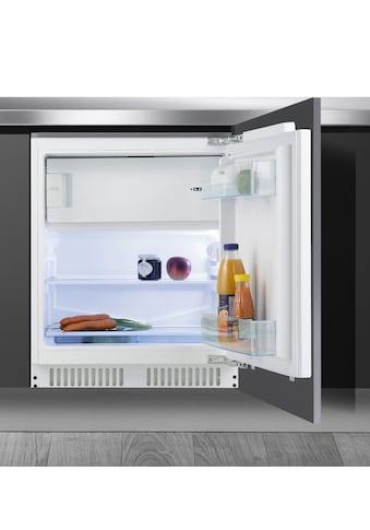 Amica Einbaukühlschrank, UKS 16158, 81,8 cm hoch, 59,6 cm breit, Höhe max. 87 cm kaufen