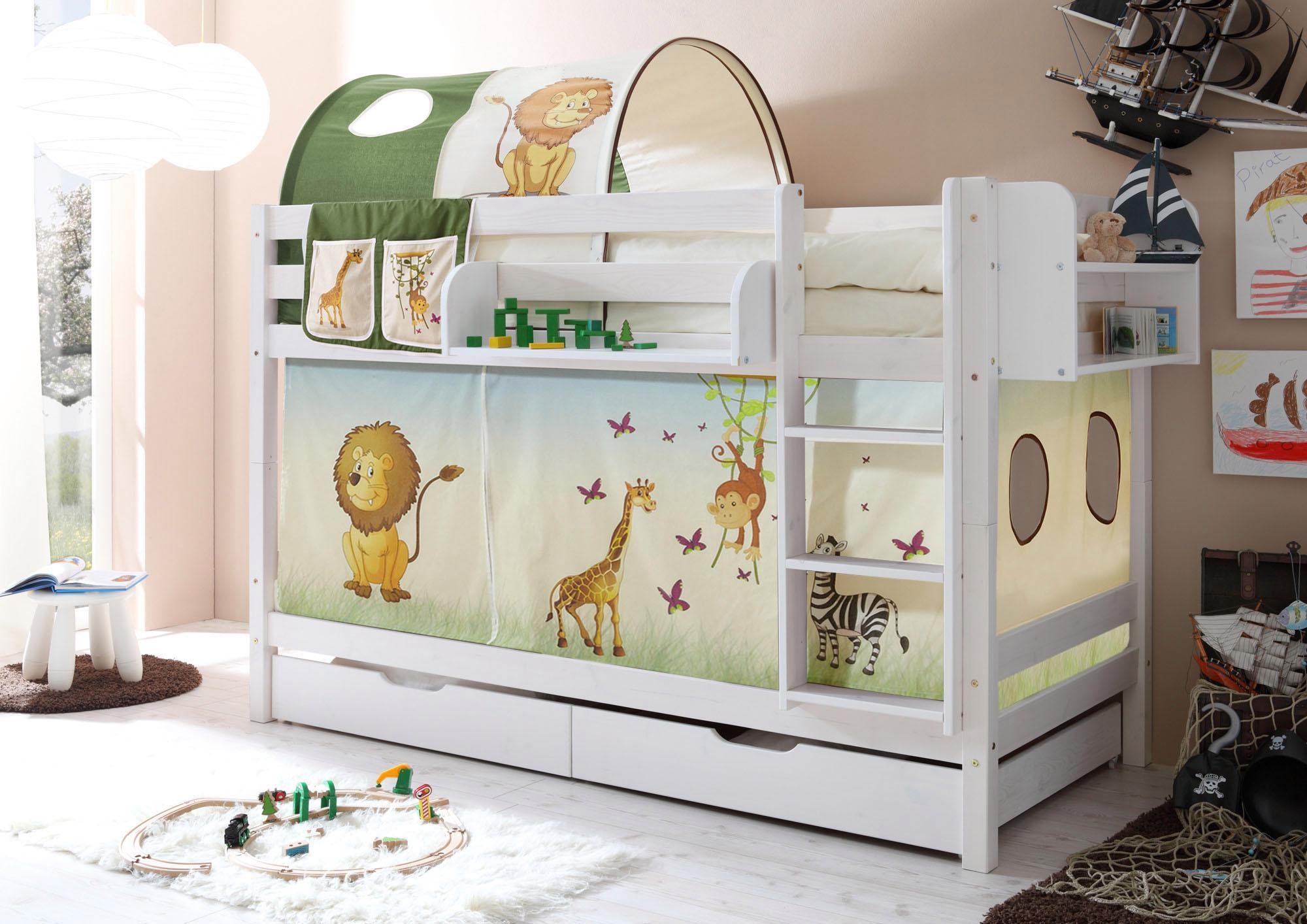 Ticaa Etagenbett Lupo Weiß : Möbel von ticaa günstig online kaufen bei garten