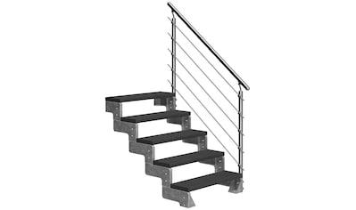 DOLLE Außentreppe »Gardentop«, für Geschosshöhen bis 110 cm, TRIMAX® - Stufen 80 cm kaufen