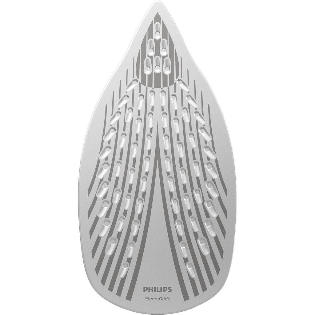 Philips Dampfbügeleisen »GC4537/70 Azur«, 2400 W, (200g Dampfstoß, SteamGlide-Bügelsohle) weiß/türkis