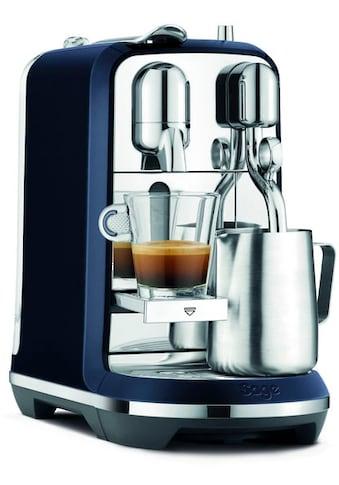 Nespresso Kapselmaschine »the Creatista Plus, SNE800DBL, Damson Blue« kaufen