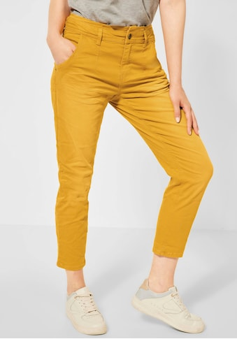 STREET ONE Ankle-Jeans »Bonny«, mit Paperbag-Taille kaufen