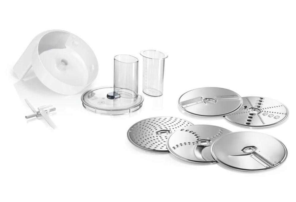 BOSCH Durchlaufschnitzler Lifestyle Set VeggieLove MUZ5VL1, Zubehör für Bosch Küchenmaschinen der Reihe MUM5   Küche und Esszimmer > Küchengeräte   Bosch