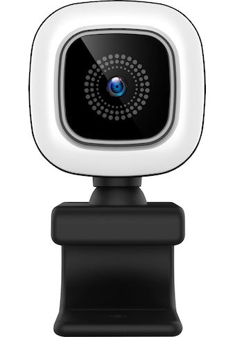 Hyrican Webcam »HYRICAN ST-CAM554 UHD Webcam 3840x2160 Pixel mit Ringlicht 12MP«, 4K... kaufen
