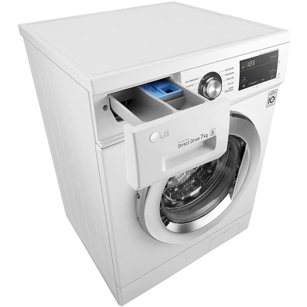 LG Waschmaschine »F1496QD3HT1«, F1496QD3HT1, 7 kg, 1400 U/min