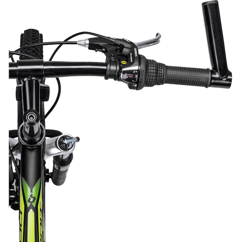 bergsteiger Mountainbike »Detroit«, 21 Gang, Shimano, Tourney RD-TZ50 Schaltwerk, Kettenschaltung