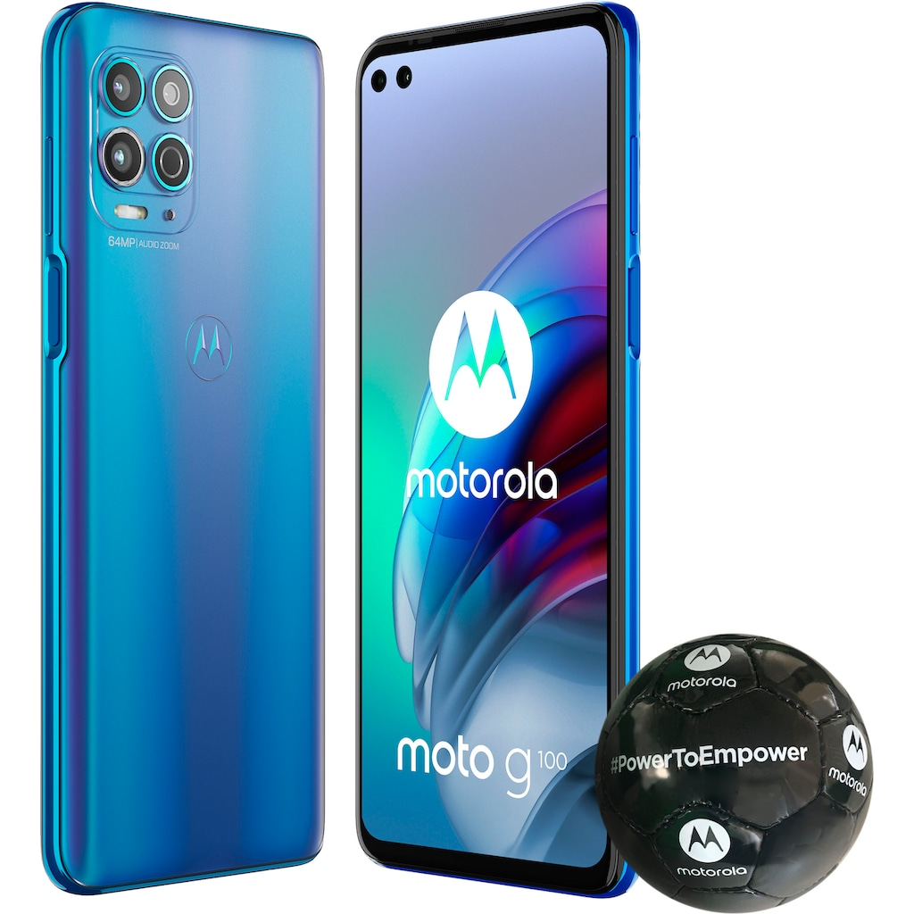 "Motorola Smartphone »Moto G100«, (17 cm/6,7 "", 128 GB Speicherplatz, 64 MP Kamera)"