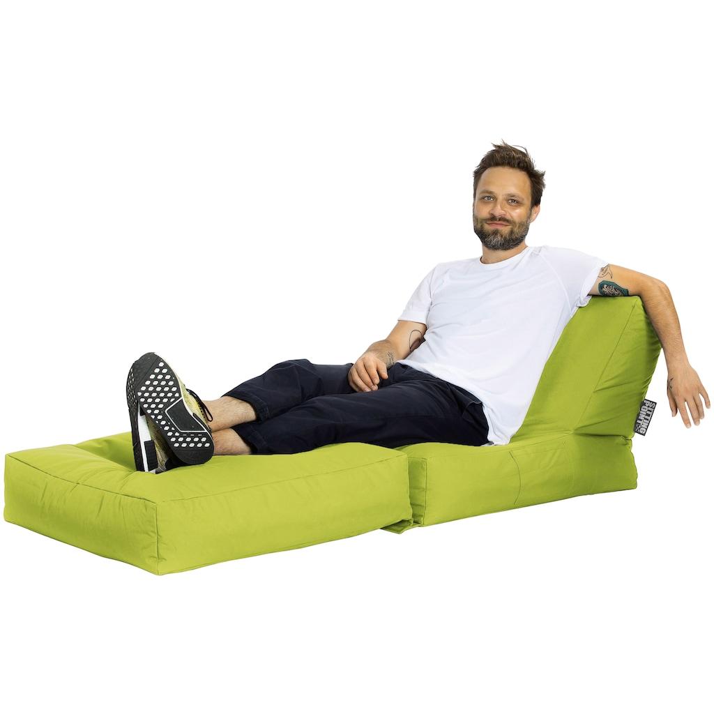 MAGMA Sitzsack »SCUBA Twist «, Inkl. Kissen, Indoor / Outdoor geeignet