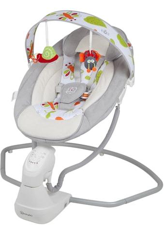BabyGo Babywippe »Cuddly, grey«, bis 9 kg, elektrisch, mit Sound kaufen
