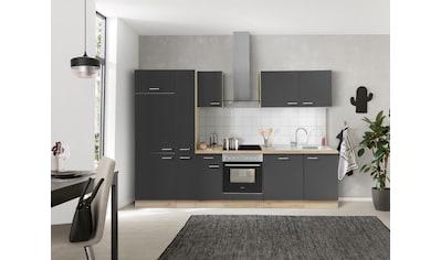 OPTIFIT Küchenzeile »Iver«, 300 cm breit, inklusive Elektrogeräte der Marke HANSEATIC, extra kurze Lieferzeit kaufen