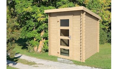 OUTDOOR LIFE PRODUCTS Gartenhaus »Jelle 175«, BxT: 195x195 cm kaufen