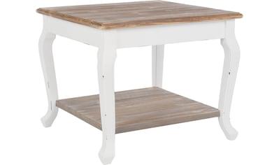 Beistelltisch »Adriana«, Holztisch, Quadratische Form, Landhausstile kaufen