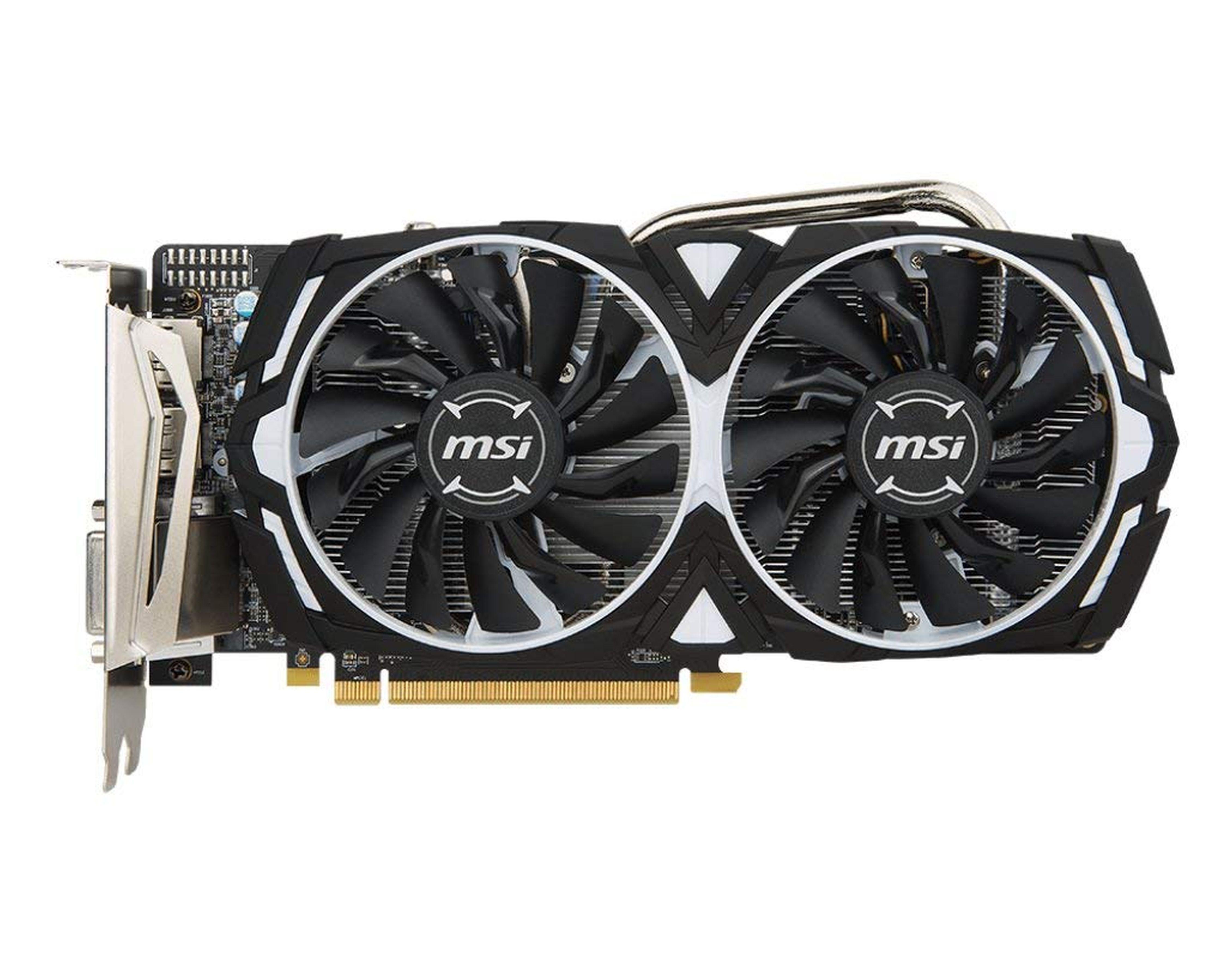MSI Radeon RX 570 ARMOR 8G OC »Grafikkarte«
