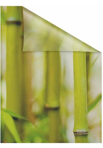 LICHTBLICK ORIGINAL Fensterfolie »Bambus«, 1 St., blickdicht, strukturiertKlebepunkte,... kaufen