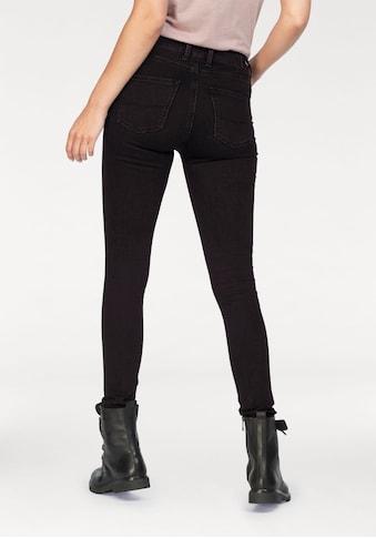 Pepe Jeans Röhrenjeans »REGENT«, Skinny Passform mit hohem Bund in seidig bequemem... kaufen