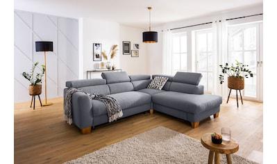 Home affaire Ecksofa »Steve Premium Luxus«, bis 140kg pro Sitz belastbar, incl.... kaufen