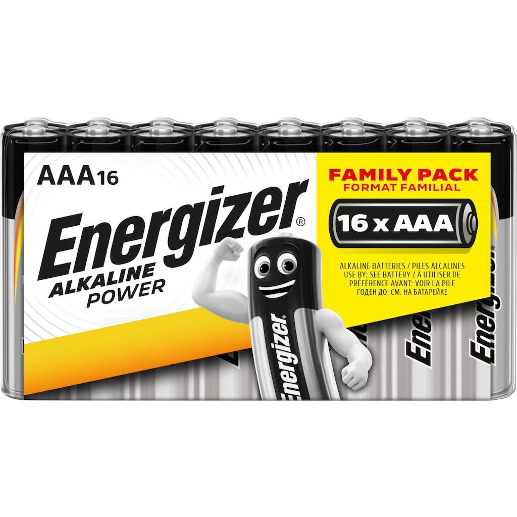 Energizer Batterie »Alkaline Power AAA Batterien 16x«