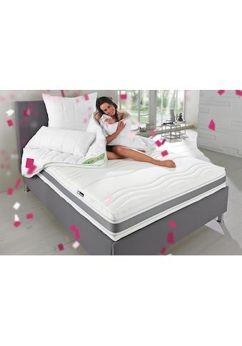 f.a.n. Schlafkomfort Microfaserbettdecke »Greenfirst«, warm, Bezug 100% Baumwolle, (1... kaufen