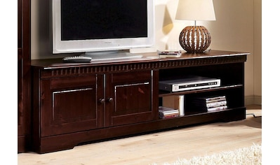 Home affaire Lowboard »Cubrix«, aus schönem massivem Kiefernholz, Breite 162 cm kaufen