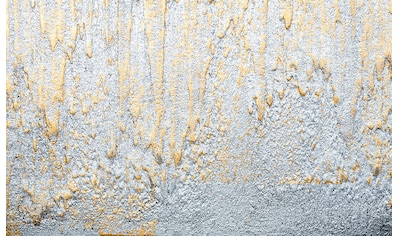 CONSALNET Vliestapete »Goldene Kleckse«, in verschiedenen Größen kaufen