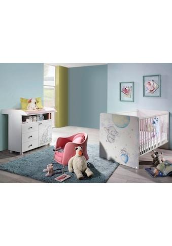 rauch ORANGE Babymöbel-Set »Vancouver«, (Spar-Set, 2 tlg.), Bett + Wickelkommode kaufen