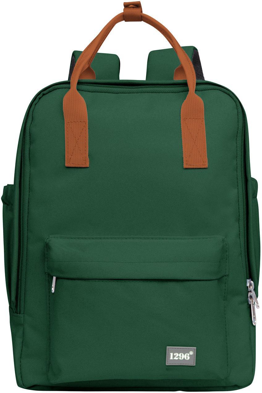 HAUPTSTADTKOFFER Rucksack mit Tabletfach, »blnbag U3« | Taschen > Rucksäcke > Sonstige Rucksäcke | Grün | HAUPTSTADTKOFFER