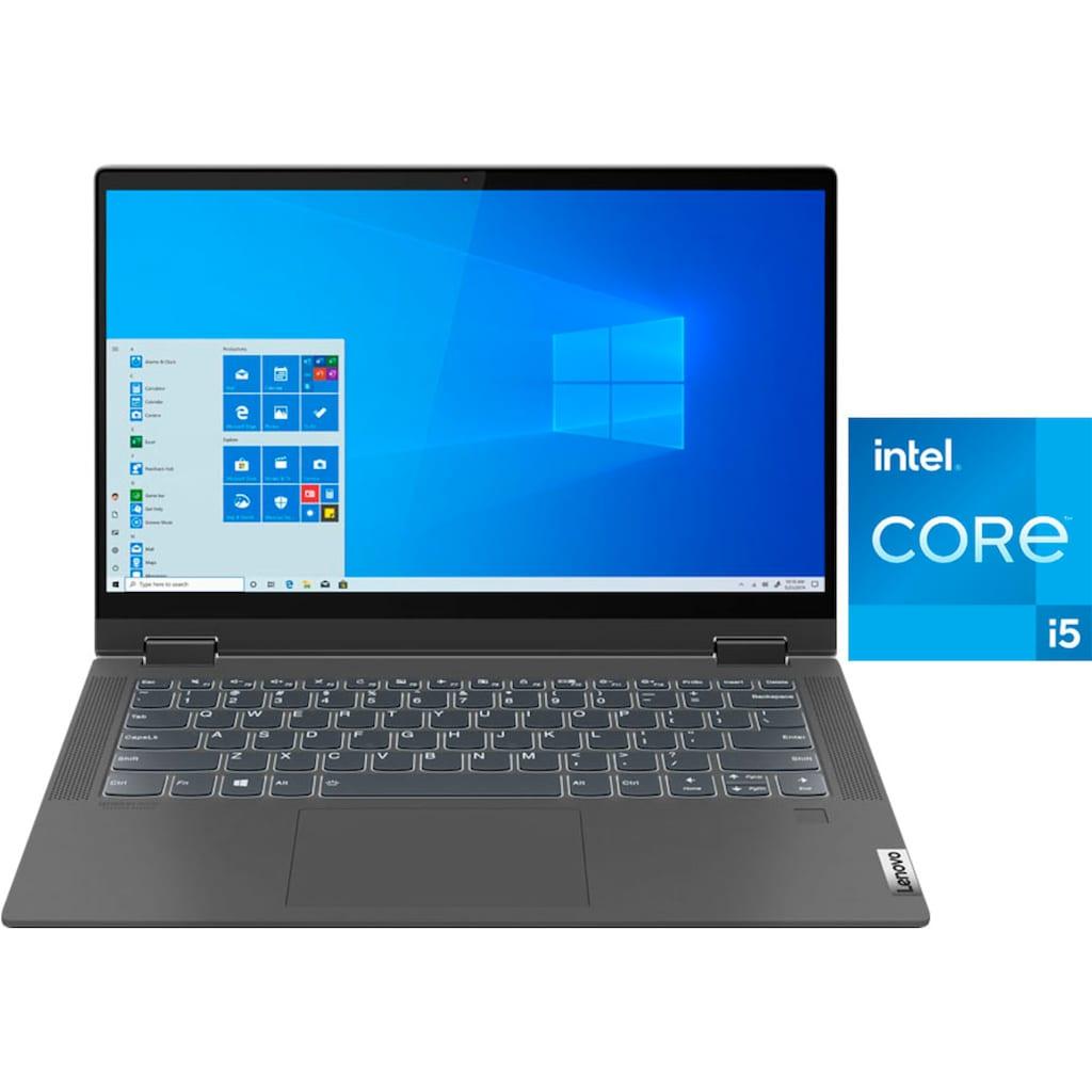 "Lenovo Notebook »FLEX 5 14ITL05«, (35,6 cm/14 "" Intel Core i5 Iris© Xe Graphics\r\n 512 GB SSD), Kostenloses Upgrade auf Windows 11, sobald verfügbar"