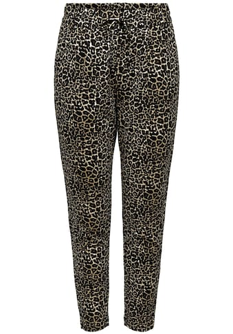 Only Jogger Pants »ONLPOPTRASH EASY«, mit Animal Print kaufen
