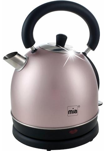 MIA Wasserkocher, EW3686RG, 1,8 Liter, 2200 Watt kaufen