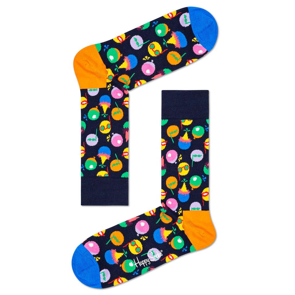 Happy Socks Socken, (Box, 3 Paar), in ansprechender Geschenkverpackung