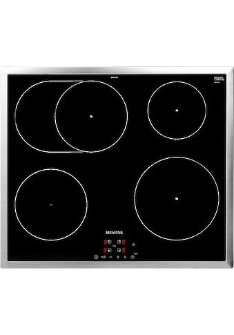 SIEMENS Induktions-Kochfeld von SCHOTT CERAN®, EH645BFB1E, mit quickStart-Funktion kaufen