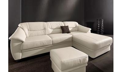 sit&more Ecksofa, inklusive komfortablem Federkern, wahlweise mit Bettfunktion kaufen