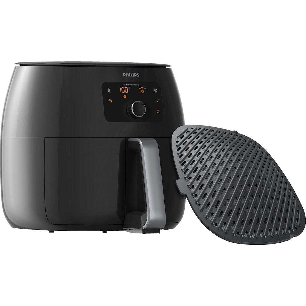 Philips Heissluftfritteuse »Airfryer XXL HD9654/90«, 2225 W, Fassungsvermögen 1,4 kg, digitales Display, inkl. Grilleinsatz im Wert von UVP €54,99