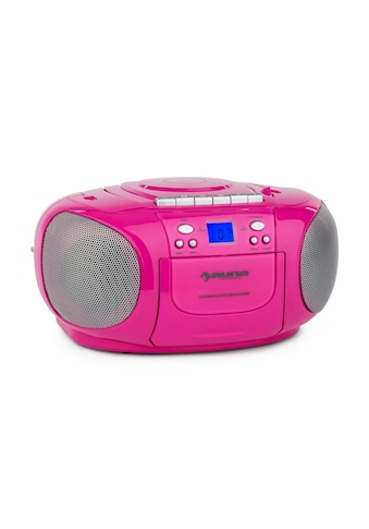 Auna Boom Box Ghettoblaster Radio CD USB MP3 Kassetten Player »Boom« kaufen