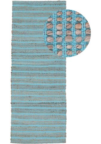 carpetfine Läufer »Lara«, rechteckig, 6 mm Höhe, Wendeteppich aus Jute/Baumwolle kaufen