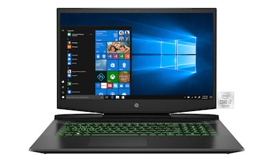 HP Pavilion  -  17 - cd1263ng Gaming - Notebook (43,9 cm / 17,3 Zoll, Intel,Core i7, 0 GB HDD, 512 GB SSD) kaufen