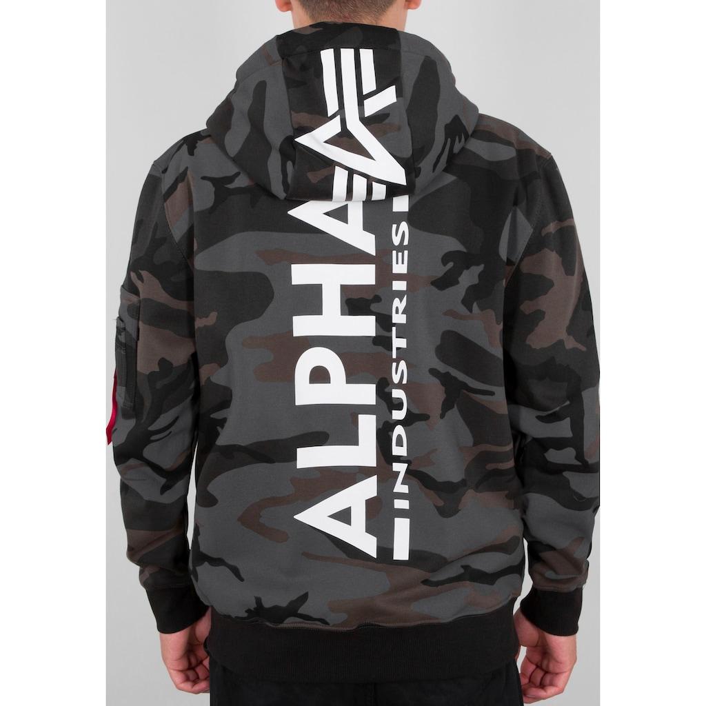 Alpha Industries Kapuzensweatshirt »BACK PRINT HOODY«
